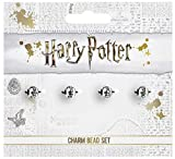 Officiellement sous licence Harry Potter Silver Plated Spell Silder charme perle Set
