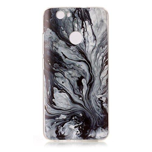 Qiaogle Telefon Case - Weiche TPU Case Silikon Schutzhülle Cover für Apple iPhone 6 Plus / iPhone 6S Plus (5.5 Zoll) - YH43 / No.8 Marmor Landschaft YH47 / Colour12