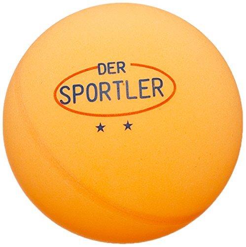 72 TT-Bälle Tischtennisbälle 40mm gute Trainingsqual. ** orange (Versand aus D)