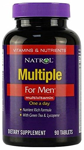 Multiple For Men - 90 tabs - Natrol 90 Tabs