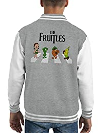 The Fruitles Abbey Road Frutties Beatles Kid's Varsity Jacket