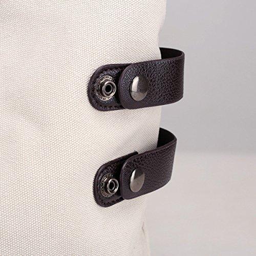 Damen-Segeltuch-Beutel-Schlag-Farben-Handtaschen Einfache Wilde Kunst-Kursteilnehmer-Handtaschen-Schulter-Beutel-Umweltschutz-Einkaufstaschen Große Beutel B