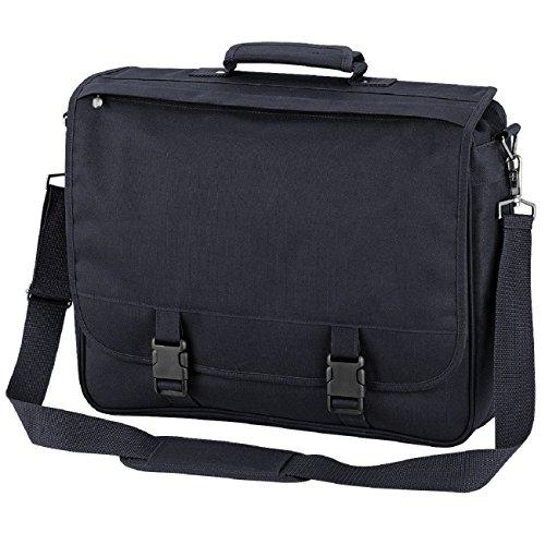Quadra portfolio briefcase in Schwarz Anthrazit