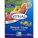 ITAL-AGRO VITHAL Thiocur Forte 100 ml fungicida sistemico Efficace Contro oidio ruggine ticchiolatura monilia