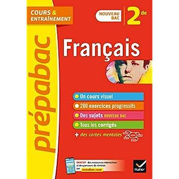 Français 2de - Prépabac: nouveau programme de Seconde 2019-2020