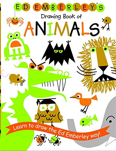 Ed Emberley's Drawing Book of Animals -