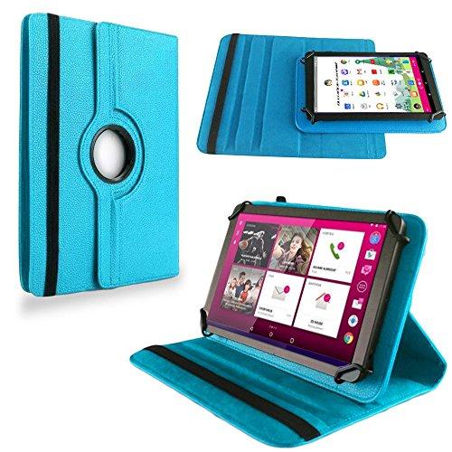 na-commerce Für Telekom Puls Tablet Tasche Hülle Schutzhülle Cover Case 360° Drehbar Türkis
