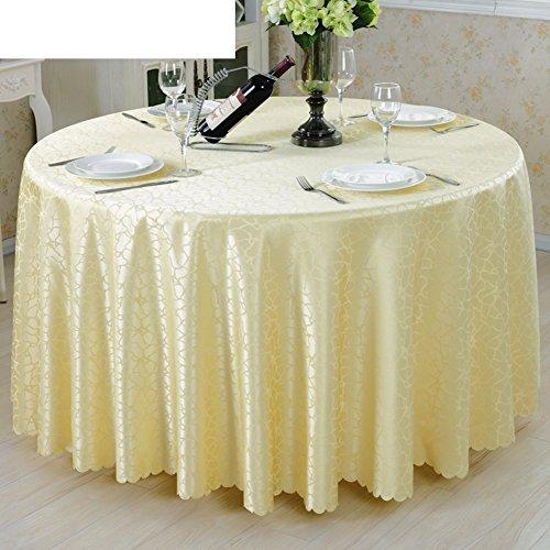 Mode-stoff (LOVE Hotel Runden Tisch Tischdecke,Stoff-tischdecke,Tischwäsche Tischdecke Stoff Mode,Meetsing Tisch Tischdecke-B Durchmesser160cm(63inch))