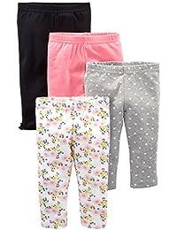 Simple Joys by Carter's Confezione da 4 Pantaloni. Bimba 0-24