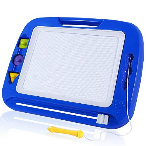 SGILE Pizarra Magnética Infantil, Grande Color magnético Doodle Sketch Pad, Juguetes niños No Tóxico para Niños Infantiles, 32.5*41.5