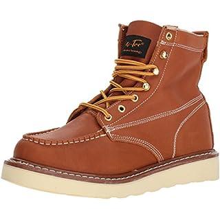 Adtec Men's 9238L Ankle Boot, Brown, 8.5 Wide US