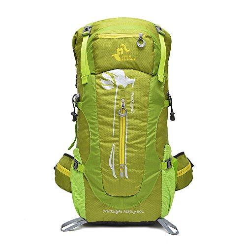 LINGE-Borsa impermeabile all'aperto alpinismo escursionismo campeggio zaino grande capacità stent lunghi 50L di sport , red Green