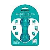 Rosewood 43107 Interaktives Spielzeug mit Leckerli-Spender für Welpen, S, blau