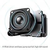 Anker Tragbarer Lautsprecher, Bluetooth 4.0mit 20Stunden Akku wiederaufladbar und ein Ton in High Definition