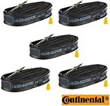 Continental Race 28 700 x 18/25c Presta Valve Inner tube - LOOSE 124043 PACK OF 5
