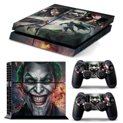 Heroes unite: Batman, Joker, Superman brand new design glossy effect Full Skin including 2handset Skins exclusively for the PS4