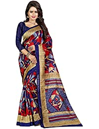 Traditional Ethnic Raw Silk Banarasi Sarees With Unstitched Blouse Design, Blue