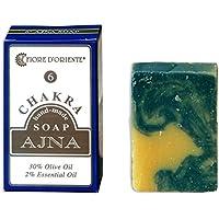Fiore D'Oriente Ajna 6. Chakra 100% natürliche handgemachte Seife 70 gr. preisvergleich bei billige-tabletten.eu