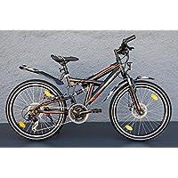 '24pollici MTB Zündapp bicicletta Shimano 21marce StVZO DISC Freno a disco