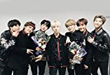 #1: MAHALAXMI ART BTS MUSIC is proving their rising popularity Wall Poster Print on Art Paper 13x19Inches, Multicolor
