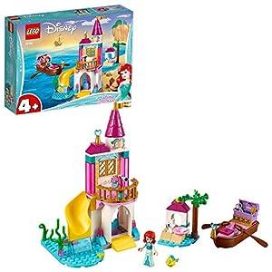 LEGO Disney Princess - Castillo en la Costa de Ariel, juguete imaginativo de construcción (41160)