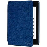 Custodia Amazon in tessuto che protegge dall'acqua per Kindle Paperwhite (10ª generazione - modello 2018), Blu