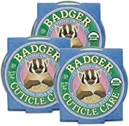 Badger - Cuticle Care, Soothing Shea Butter Cuticle Balm, Certified Organic, Nourish and Protect Cuticles and