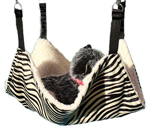 Ylen Cat Hammock Kitty Blanket Pet Cage Hanging Bed for Small Animals
