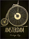 Forex-Platte 60 x 80 cm: Amsterdam von Typobox/Editors Choice