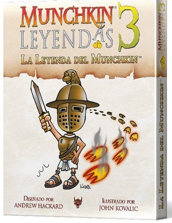Edge Entertainment- 3: La Leyenda del Munchkin-Español, Color (EESJML03)