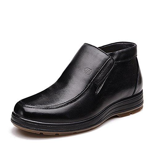 Business casual Winterstiefel/ Winterschuhe Vater/Mitte und alte gealterte Männer Schuhe/ der alte Mann Schuhe A