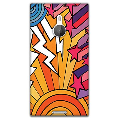 The Racoon Lean printed designer hard back mobile phone case cover for Nokia Lumia 1520. (Thundersto)  available at amazon for Rs.99