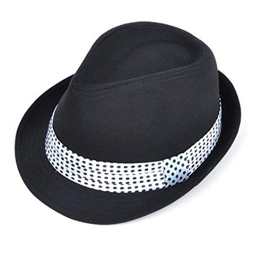 SSZYB*Chapeau pour les hommes et les femmes dans le printemps et l'été cap soleil tide chers hat Jazz Points blancs