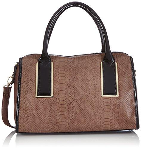 More & More Damen Ellen Bowling Bag Bowlingtaschen, Braun (braun 8586), 35x26x18 cm