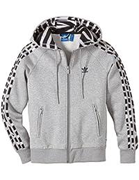 Adidas Girlie Sweat à capuche zippé en polaire pour fille
