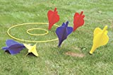 Giant Garden Lawn Darts Outdoor Family Fun Traditional Party Game