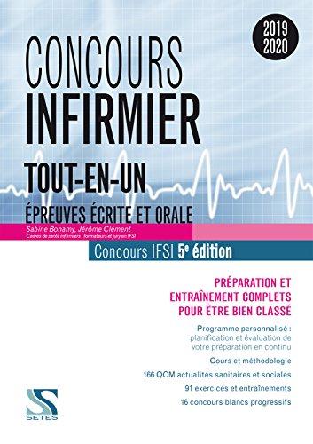 Concours infirmier Tout-en-un 2019-2020 par Sabine Bonamy;Jérôme Clément