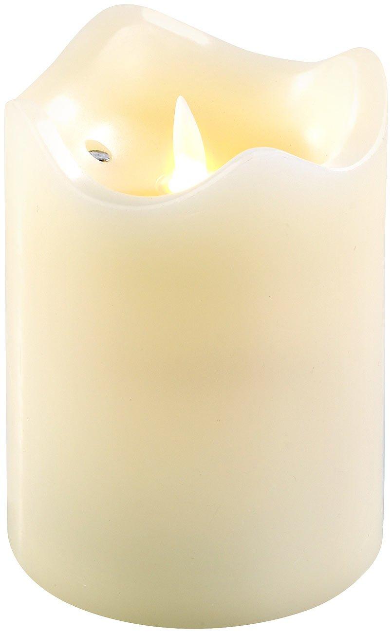 Britesta-Flackerkerze-LED-Echtwachskerze-mit-beweglicher-Flamme-125-cm-hoch-LED-Kerze-Timer