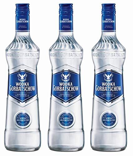 Wodka Gorbatschow 37,5{9981d6c483e5dbfec3b93d40d685d5168347994fb02dbdc05406acb042531555} Vol. - 3 x 0.7 l