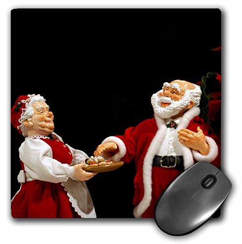 Danita Delimont - Holidays - Holiday, Christmas, Mr. and Mrs. Claus - LI09 CMI0018 - Cindy Miller Hopkins - MousePad (mp_83240_1)