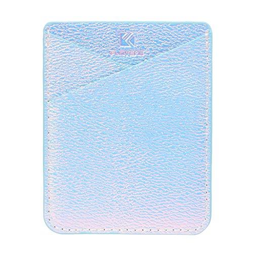 SimpleLife Sticky-Kartenhalter für Telefon - Handyhalter - Kleberkartenhalter - Handytasche ID-Kartenhalter Brieftasche Kredit Pocket Adhesive Sticker