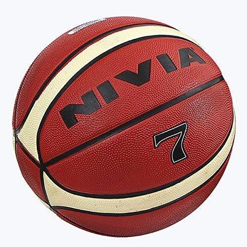 Nivia Engraver Basketball-Size: 7,(Color May Vary)