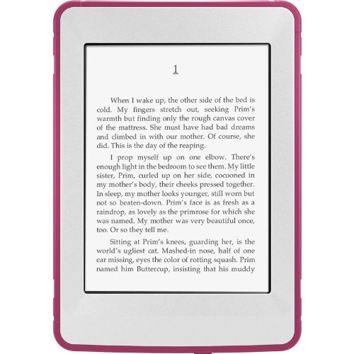 OtterBox Defender Series Protective Case for Kindle Paperwhite, Pink/Papaya (Kindle Otterbox)