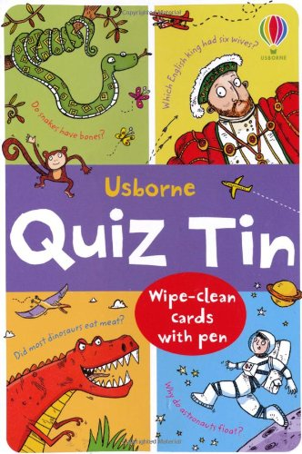 Quiz Tin (Usborne Activity Tins)