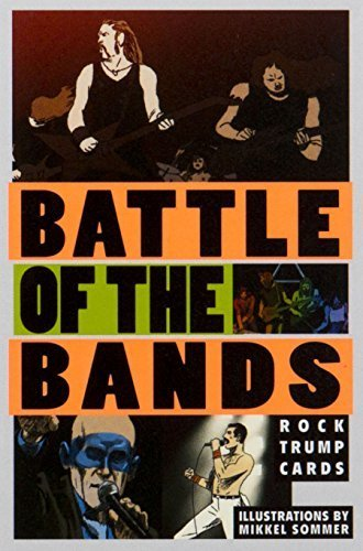 Battle of the Bands: Rock Trump Cards (Magma for Laurence King) by Stephen Ellcock (2016-02-09)
