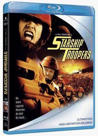 Preisvergleich Produktbild Starship Troopers - Exklusiv Deutsche Uncut Erstauflage (Blu-ray)