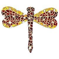 Mosaic Dragonfly Garden Wall Art Ornament from Gardens2you