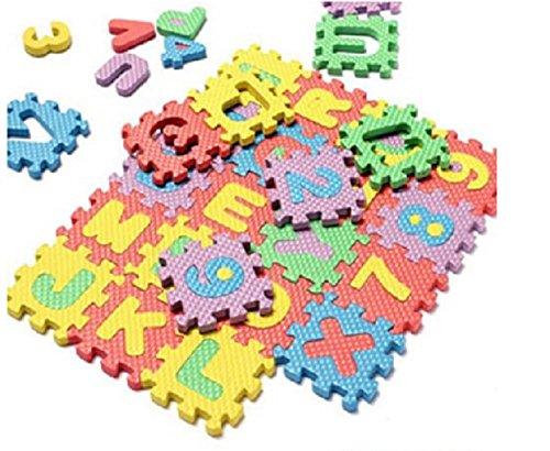 Taaza Garam Baby Child Kids Alphabet Number Puzzle Foam Teaching Tools Toy Mats Kids
