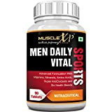 Best Organic Multi Vitamins - MuscleXP MultiVitamin Men Daily Sports with 47 Nutrients Review