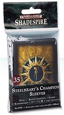 Games Workshop Jeux Atelier 99220718002WH/UW?: Steelhearts Champions Manches de Table et de Jeux Miniature